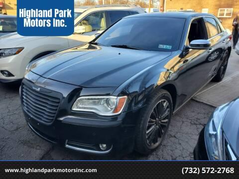 2014 Chrysler 300 for sale at Highland Park Motors Inc. in Highland Park NJ