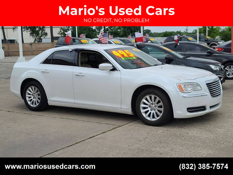 2014 Chrysler 300 for sale at Mario's Used Cars in Houston TX