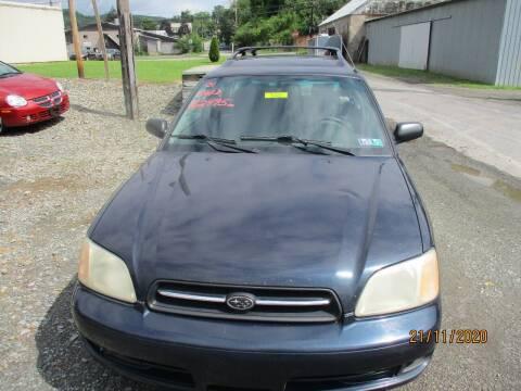 2001 Subaru Legacy for sale at FERNWOOD AUTO SALES in Nicholson PA