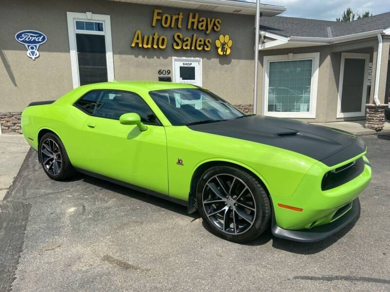 2015 Dodge Challenger for sale at Fort Hays Auto Sales in Hays KS