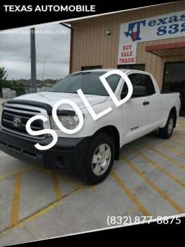 2011 Toyota Tundra for sale at TEXAS AUTOMOBILE in Houston TX