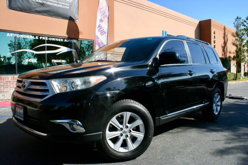 2011 Toyota Highlander for sale at CK Motors in Murrieta CA