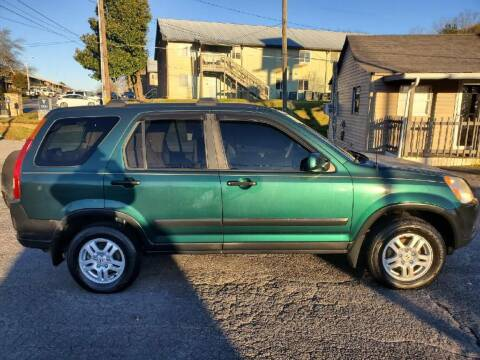 2002 Honda CR-V for sale at Knoxville Wholesale in Knoxville TN