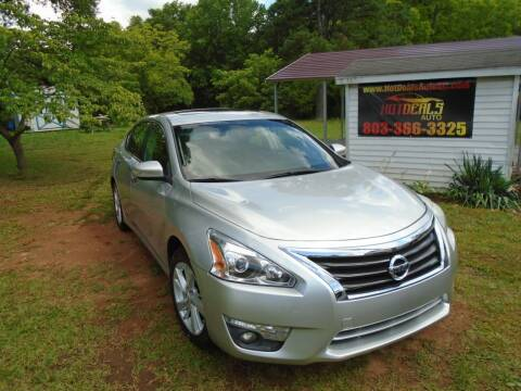 2013 Nissan Altima for sale at Hot Deals Auto LLC in Rock Hill SC