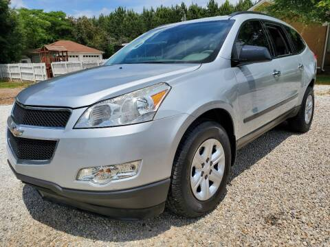 2012 Chevrolet Traverse for sale at Marks and Son Used Cars in Athens GA
