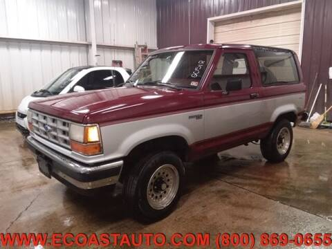 1990 Ford Bronco II for sale at East Coast Auto Source Inc. in Bedford VA