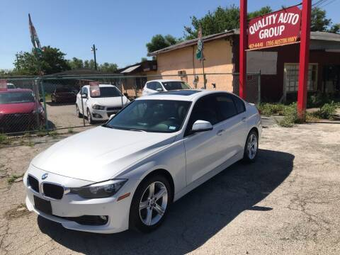 2014 BMW 3 Series for sale at Quality Auto Group in San Antonio TX