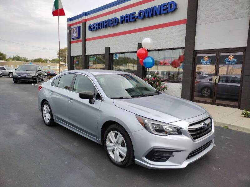 2018 Subaru Legacy for sale at Ultimate Auto Deals DBA Hernandez Auto Connection in Fort Wayne IN