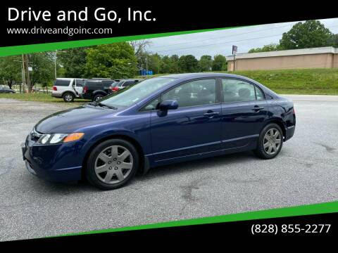 2008 Honda Civic for sale at Drive and Go, Inc. in Hickory NC