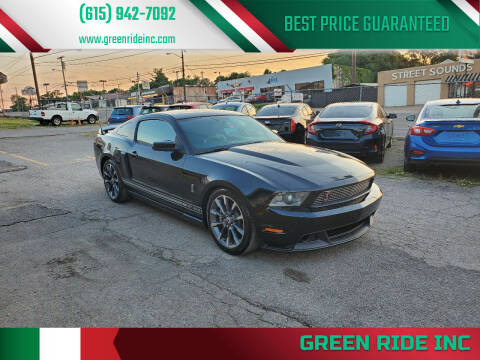2011 Ford Mustang for sale at Green Ride Inc in Nashville TN