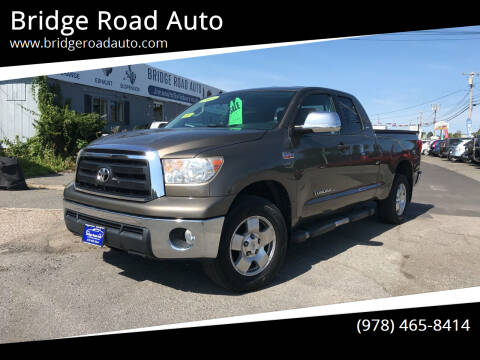 2013 Toyota Tundra for sale at Bridge Road Auto in Salisbury MA