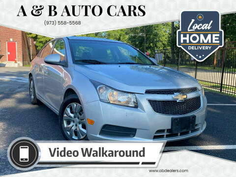 2011 Chevrolet Cruze for sale at A & B Auto Cars in Newark NJ