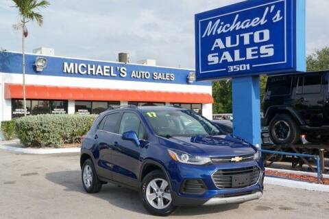 2017 Chevrolet Trax for sale at Michael's Auto Sales Corp in Hollywood FL