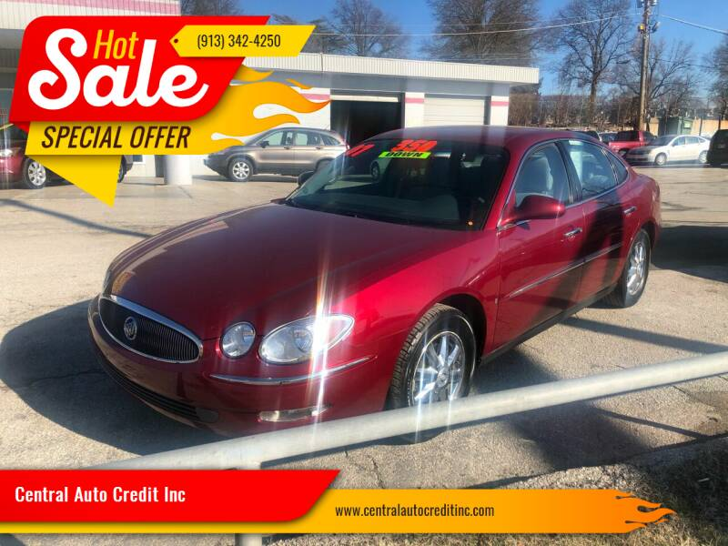 2007 Buick LaCrosse for sale at Central Auto Credit Inc in Kansas City KS