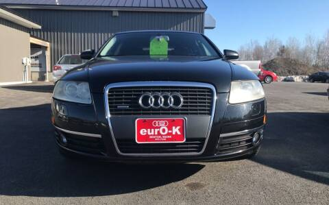 2005 Audi A6 for sale at eurO-K in Benton ME
