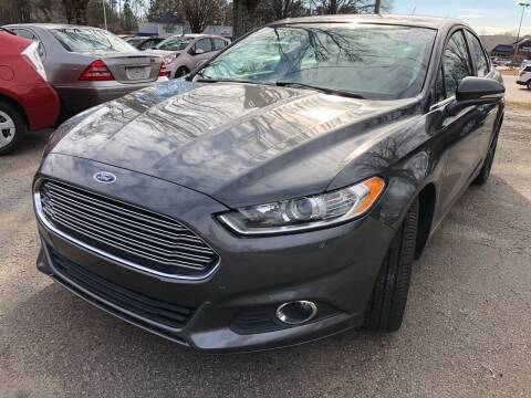 2016 Ford Fusion for sale at Atlantic Auto Sales in Garner NC
