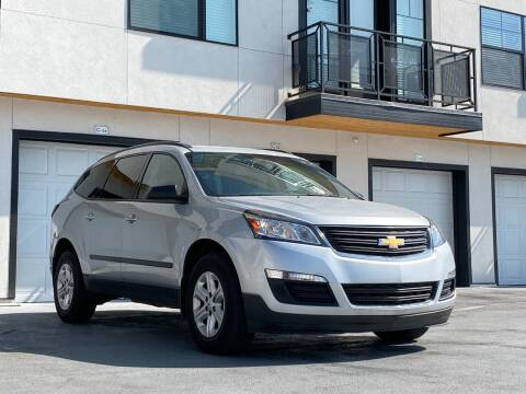 2017 Chevrolet Traverse for sale at Avanesyan Motors in Orem UT