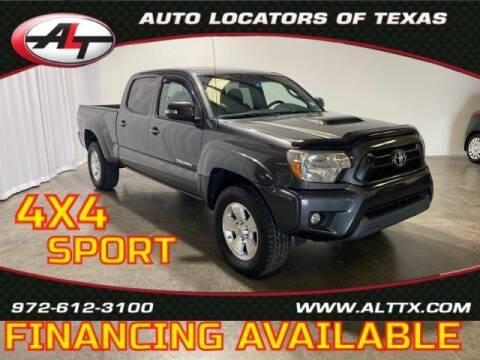 2015 Toyota Tacoma for sale at AUTO LOCATORS OF TEXAS in Plano TX