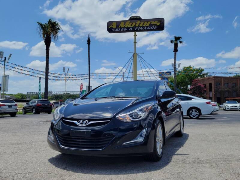 2015 Hyundai Elantra for sale at A MOTORS SALES AND FINANCE in San Antonio TX