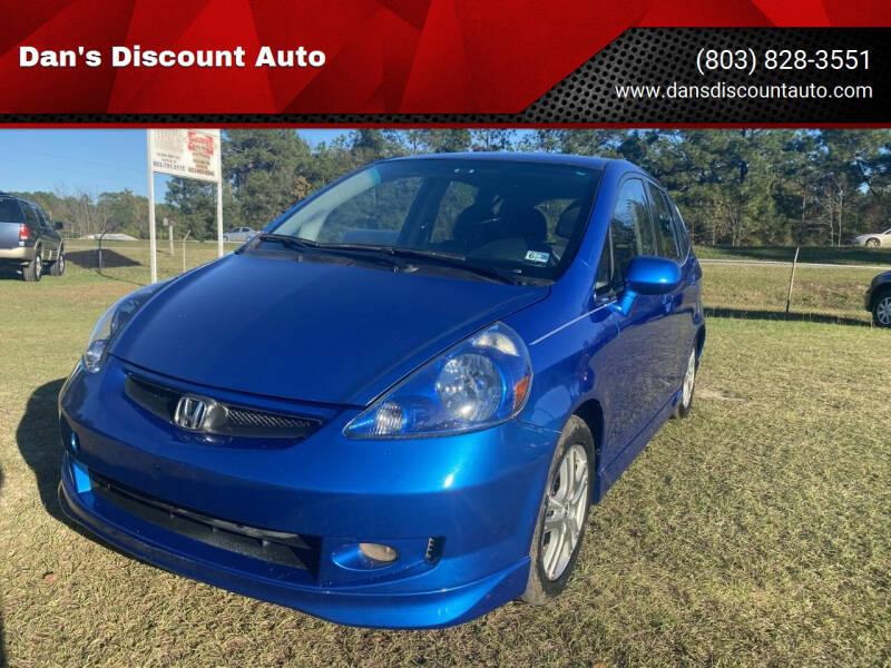 2008 Honda Fit for sale at Dan's Discount Auto in Gaston SC