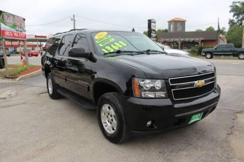 2013 Chevrolet Suburban for sale at E & S Auto Sales in Crest Hill IL