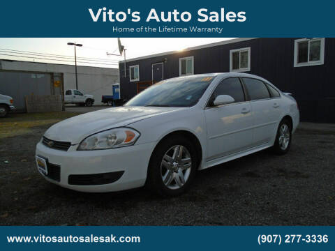 2011 Chevrolet Impala for sale at Vito's Auto Sales in Anchorage AK
