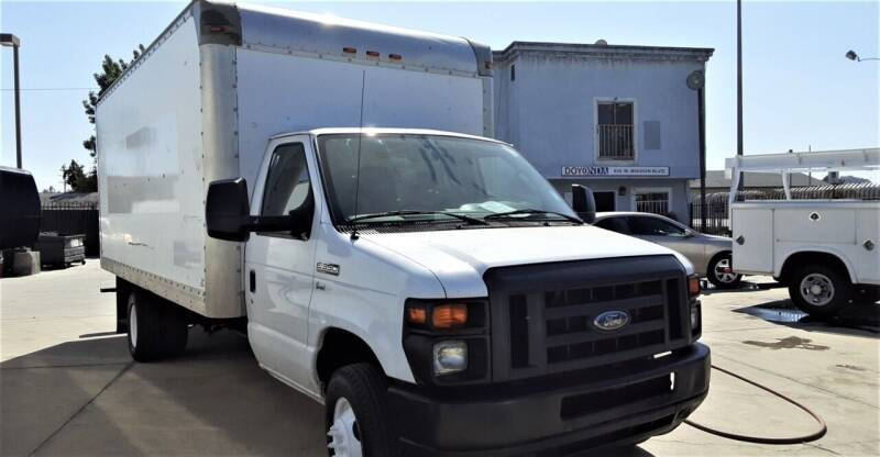 2012 Ford E-350 for sale at DOYONDA AUTO SALES in Pomona CA