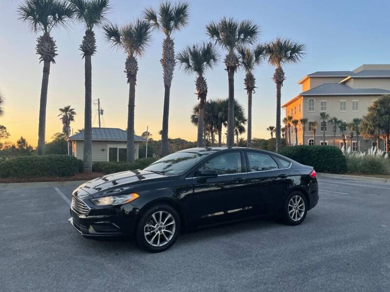 2017 Ford Fusion for sale at Gulf Financial Solutions Inc DBA GFS Autos in Panama City Beach FL
