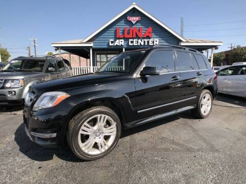 2014 Mercedes-Benz GLK for sale at LUNA CAR CENTER in San Antonio TX