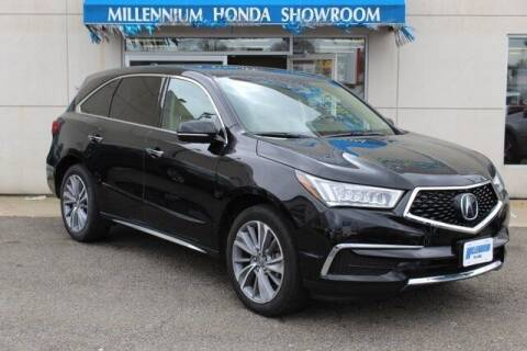 2018 Acura MDX for sale at MILLENNIUM HONDA in Hempstead NY