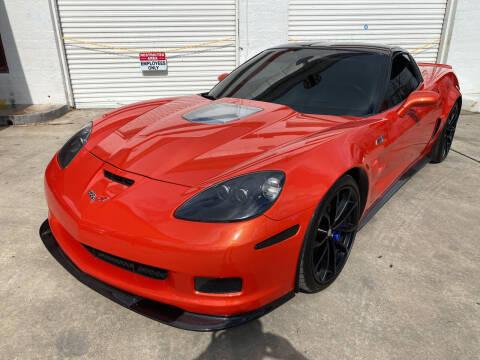 2011 Chevrolet Corvette for sale at FAST LANE AUTO SALES in San Antonio TX