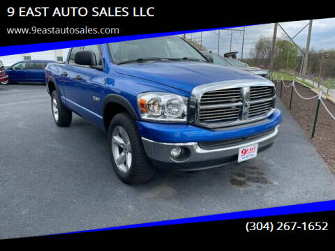 2008 Dodge Ram Pickup 1500 for sale at 9 EAST AUTO SALES LLC in Martinsburg WV