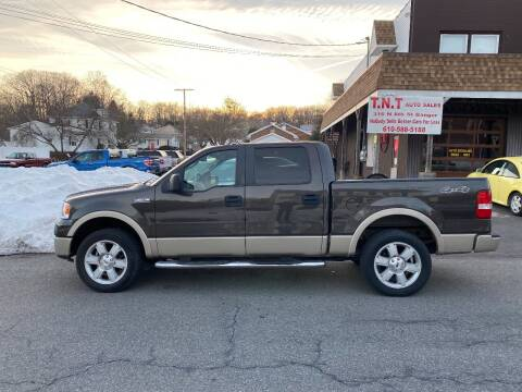 2007 Ford F-150 for sale at TNT Auto Sales in Bangor PA