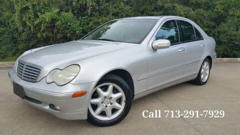 2003 Mercedes-Benz C-Class for sale at Houston Auto Preowned in Houston TX