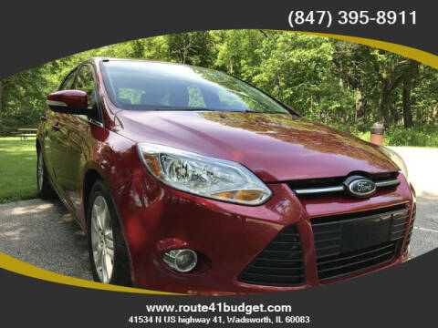 2012 Ford Focus for sale at Route 41 Budget Auto in Wadsworth IL