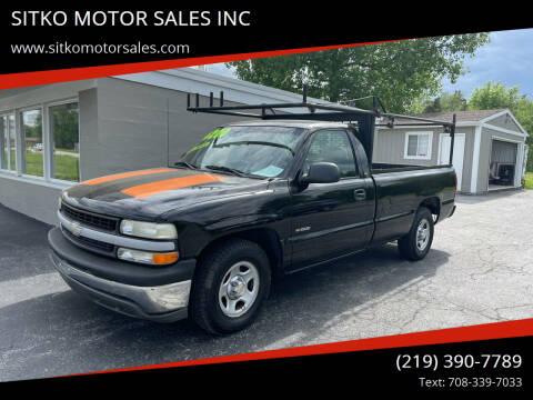2002 Chevrolet Silverado 1500 for sale at SITKO MOTOR SALES INC in Cedar Lake IN