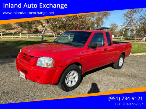 2001 Nissan Frontier for sale at Inland Auto Exchange in Norco CA