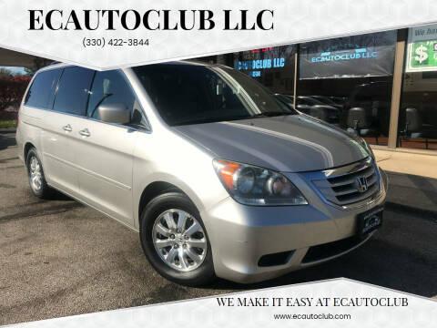 2008 Honda Odyssey for sale at ECAUTOCLUB LLC in Kent OH