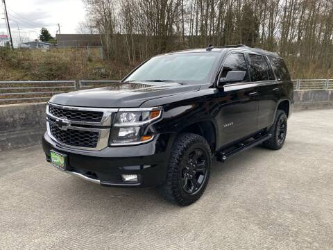 2017 Chevrolet Tahoe for sale at Zipstar Auto Sales in Lynnwood WA