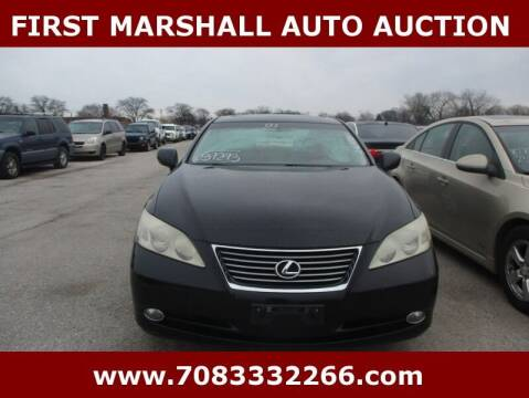 2007 Lexus ES 350 for sale at First Marshall Auto Auction in Harvey IL