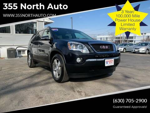2011 GMC Acadia for sale at 355 North Auto in Lombard IL