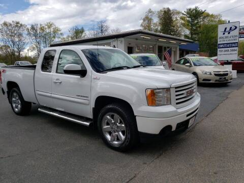 2012 GMC Sierra 1500 for sale at Highlands Auto Gallery in Braintree MA