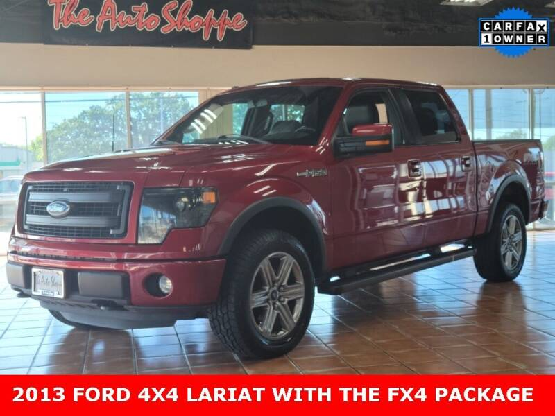 2013 Ford F-150 for sale at The Auto Shoppe in Springfield MO