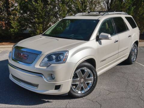2011 GMC Acadia for sale at Mich's Foreign Cars in Hickory NC