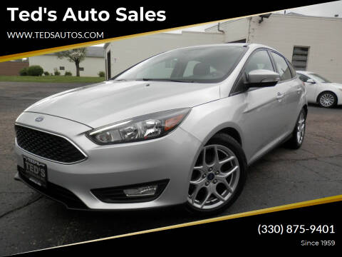 2015 Ford Focus for sale at Ted's Auto Sales in Louisville OH
