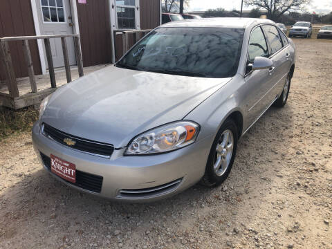 2007 Chevrolet Impala for sale at Knight Motor Company in Bryan TX