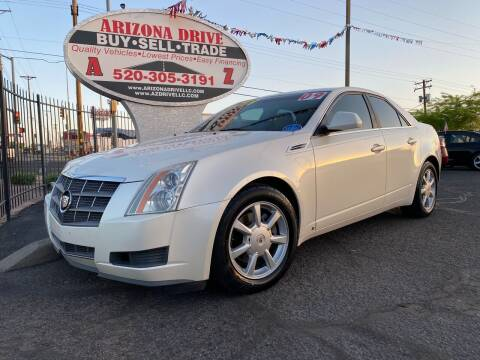 2009 Cadillac CTS for sale at Arizona Drive LLC in Tucson AZ