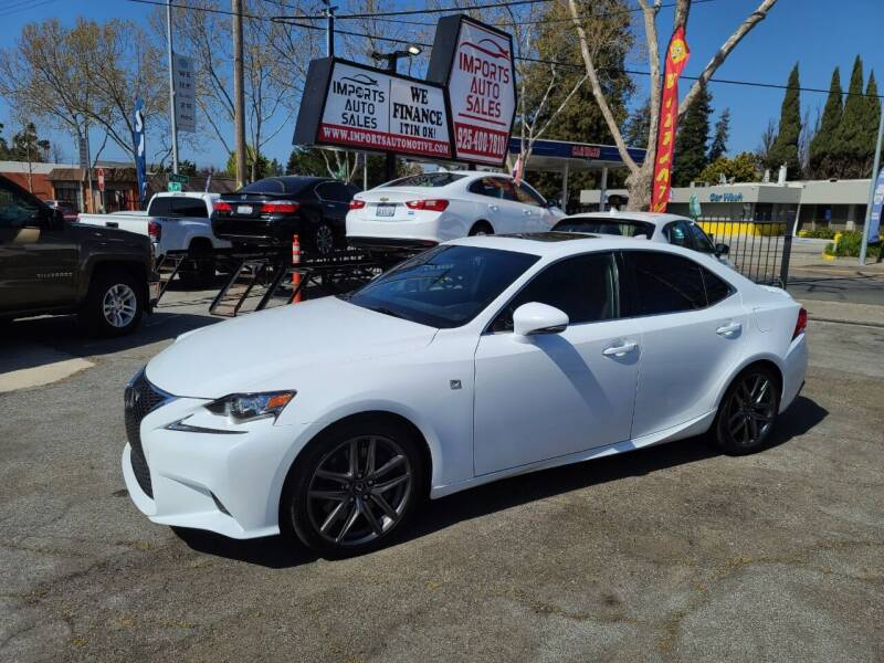 2016 Lexus IS 200t for sale at Imports Auto Sales & Service in San Leandro CA