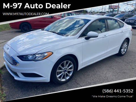 2017 Ford Fusion for sale at M-97 Auto Dealer in Roseville MI