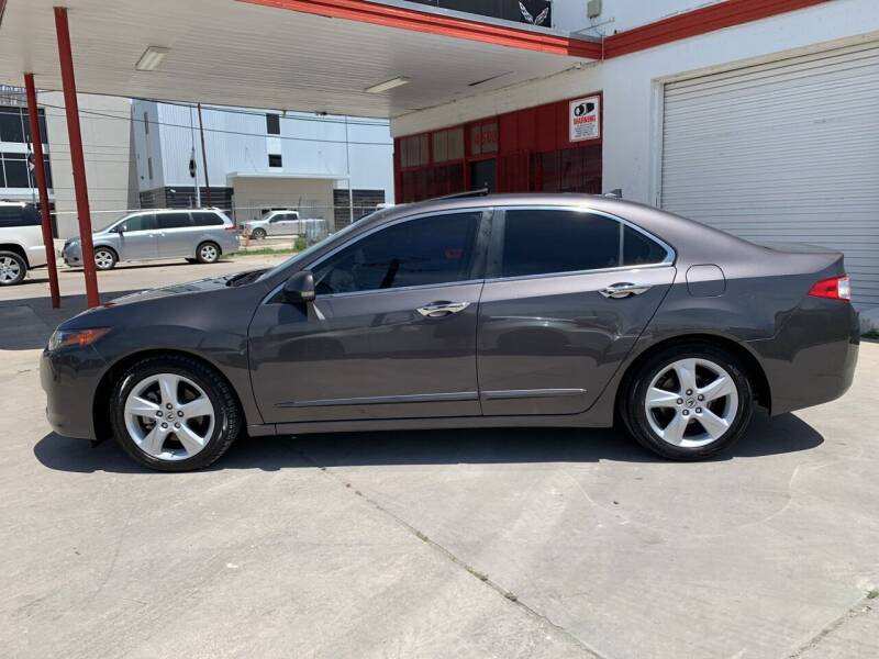 2010 Acura TSX for sale at FAST LANE AUTO SALES in San Antonio TX
